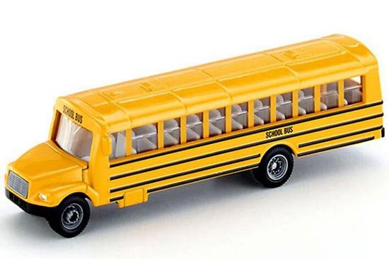Yellow 1:87 Scale SIKU 1864 Die-Cast U.S. School Bus Toy