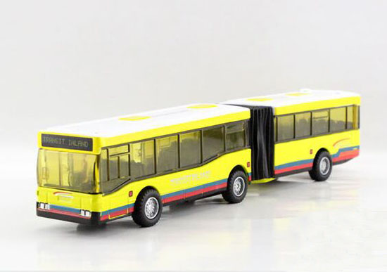 Yellow /Red /Blue Kid Pull-Back Function Diecast Articulated Toy