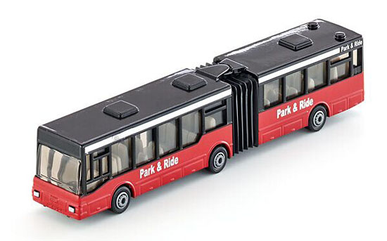 Kids Red SIKU U1617 Die-Cast Articulated Bus Toy