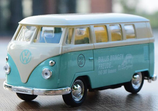 1:36 Scale Kids Welly Die-Cast 1963 VW T1 Bus Toy