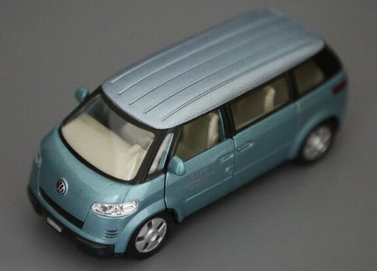 Kids 1:36 Scale Welly Die-cast 2001 VW Microbus Toy