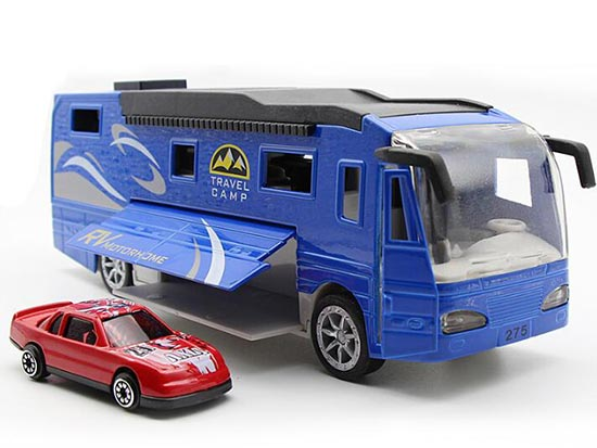 Red / White / Blue Kids 1:50 Scale Diecast Motorhome Toy