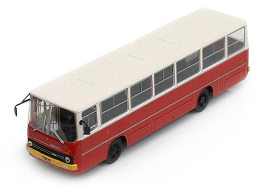 DEA 1:72 Scale Red Diecast Ikarus 260 City Bus Model