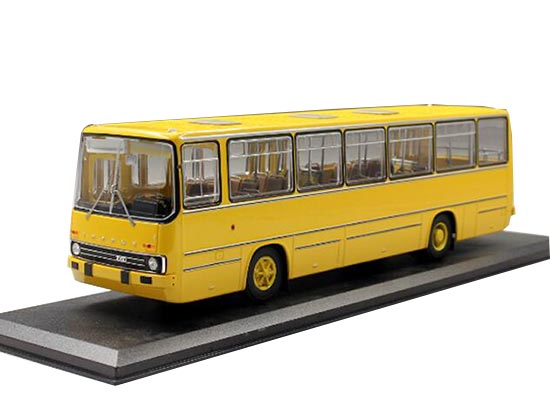 1:43 Scale Yellow Diecast Ikarus 260 City Bus Model
