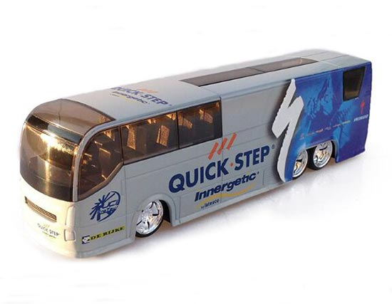 1:50 Scale Belgium QUICK STEP Diecast Coach Bus Model