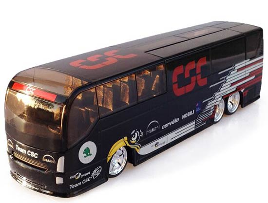 1:50 Scale Black Denmark CSC Diecast Coach Bus Model
