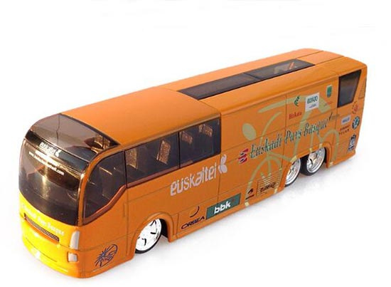 1:50 Orange Spain Euskaltel Euskadi Diecast Coach Bus Model