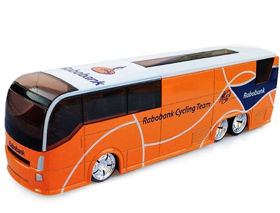 Orange 1:50 Scale Netherlands Rabobank Diecast Coach Bus Model