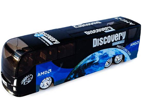 Black 1:50 Scale U.S. Discovery Diecast Coach Bus Model