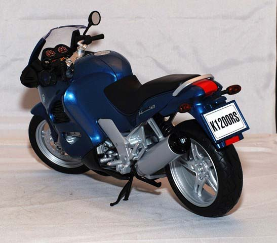 1:6 Large Scale Black BMW K1200RS Model Motorcycle