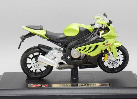 1:18 Scale Navy Blue MaiSto BMW S1000RR Motorcycle