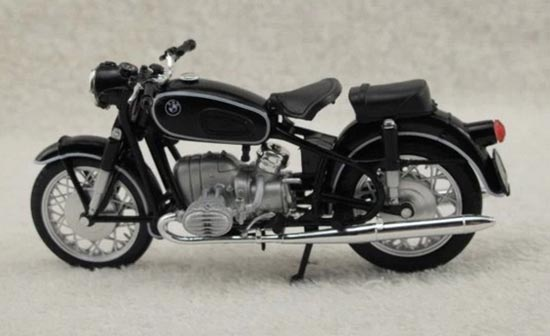 1:18 Scale Black NOREV BMW R60 Motorcycle