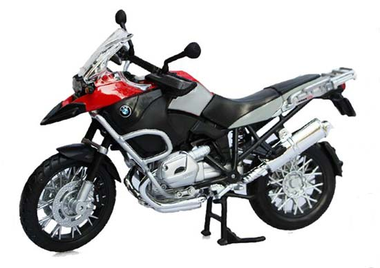 Yellow / Red 1:12 Scale MaiSto BMW R1200GS Motorcycle
