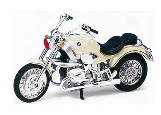 1:18 Scale Silver Welly BMW R1200C Motorcycle