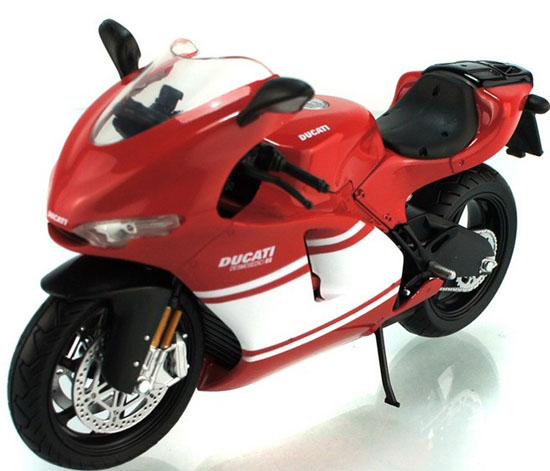 1:12 Scale Red-White DUCATI Desmosedici RR GP Motorcycle