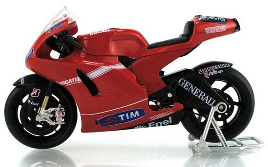 Red 1:12 Scale NO. 27 DUCATI Desmosedici RR GP Motorcycle