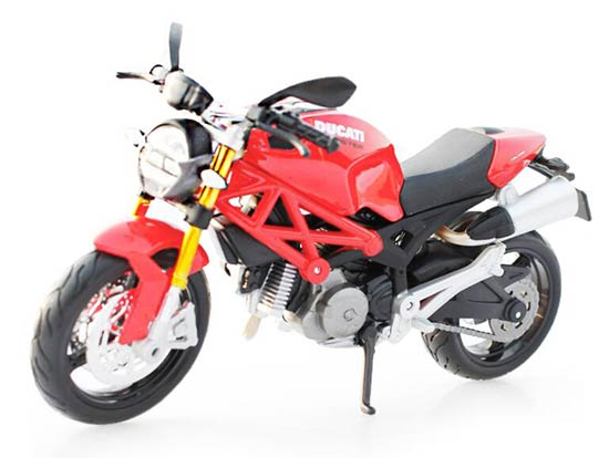 Red / Black 1:12 Scale MaiSto Diecast DUCATI MONSTER 696