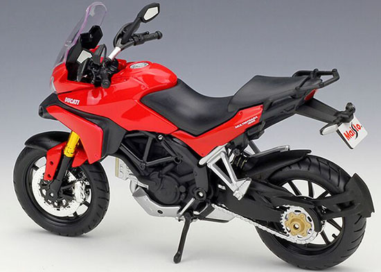 1:12 Scale Red / White MaiSto Ducati Multistrada 1200S