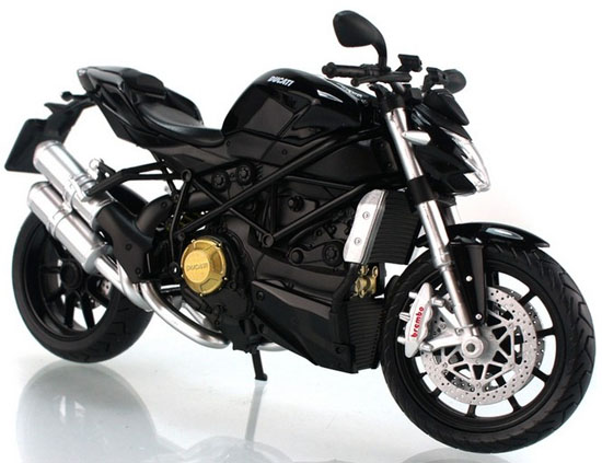 Red / White / Black 1:12 Scale Ducati StreetFighter Motorcycle