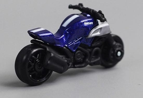 Ducati Diavel Blue And White Toy Car