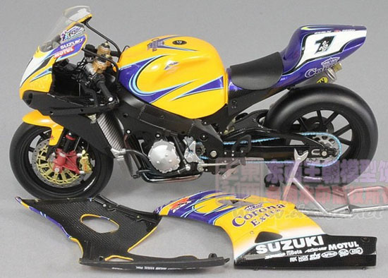 1:12 Scale Yellow Minichamps SUZUKI GSX R1000 Model