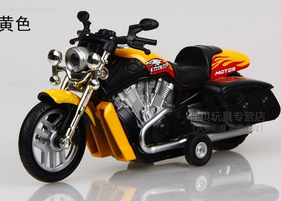 Red / Orange / Blue / Wine Red / Yellow / Green Kids Motorcycle