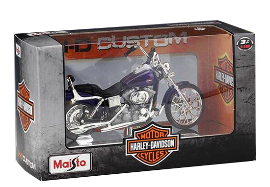 1:18 Scale Harley Davidson 2001 FXDWG Dyna Wide Glide