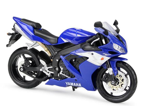 Black / Blue / White /Red 1:12 Scale MaiSto Yamaha YZF-R1