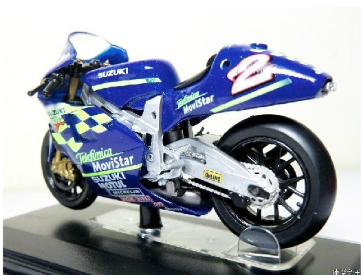 1:22 Scale Blue YAMAHA YZR M1 GP Motorcycle