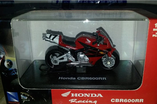 1:32 Scale Red NEWRAY Honda CBR 600RR Motorcycle