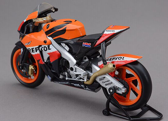 1:12 Scale Orange NEWRAY Diecast Honda RC212V 2008 Motorcycle