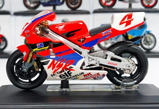 1:22 Scale Red Honda NSR 1994 Motorcycle Model