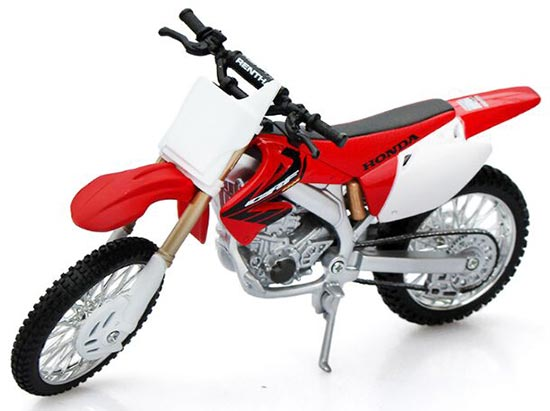 1:12 Scale Red MaiSto HONDA CRF450R Motorcycle