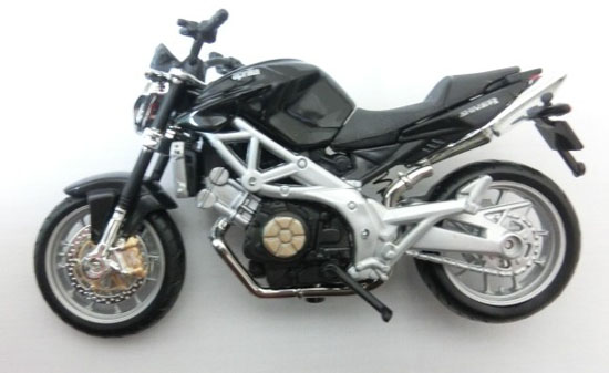 1:18 Scale Black Bburago Aprilia SHIVER Model