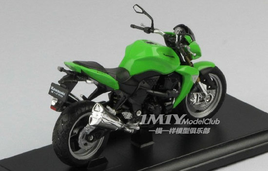 1:18 Scale Green Welly Kawasaki Z 1000 Motorcycle