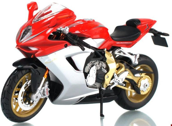 1:12 Scale Red MaiSto MV Agusta F3 Serie Oro 2012 Model