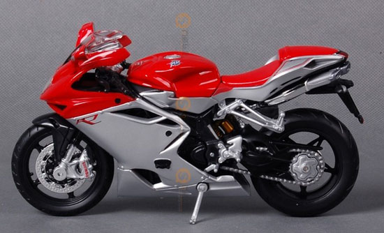 1:12 Scale Red MaiSto MV Agusta F4-11094 Model