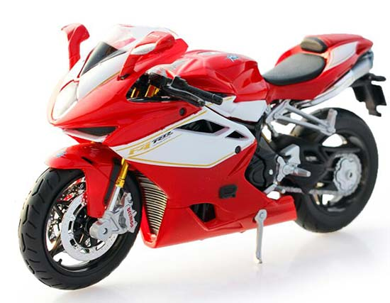 MaiSto 1:12 Scale Red MV Agusta F4 RR 2012 Model