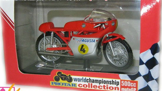 1:22 Scale Red ITALERI MV Agusta 3 CIL500CC Model