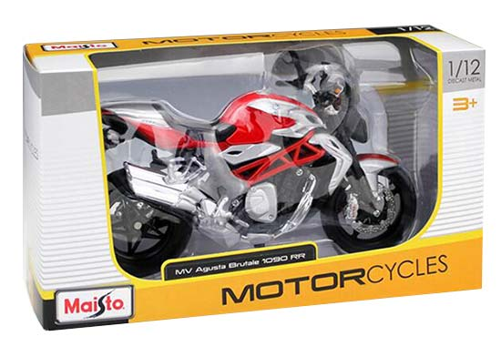 Red-Black 1:12 Scale MaiSto MV Agusta Brutale 1090 R Model