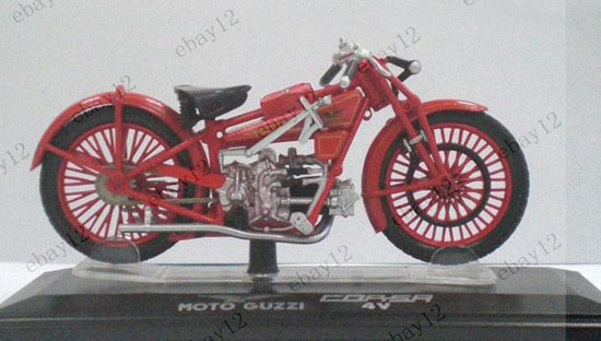 Red Diecast MOTO GUZZI Corsa 4V Model