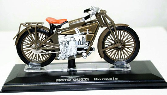 Brown Diecast MOTO GUZZI Normale Model