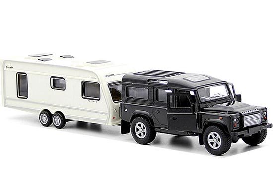 Kids Die-Cast Land Rover Defender Motor Homes Toy