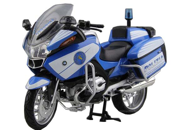 blue silver 1 12 newray police diecast bmw r1200rt p model nm01b061 ezmotortoys com. Black Bedroom Furniture Sets. Home Design Ideas