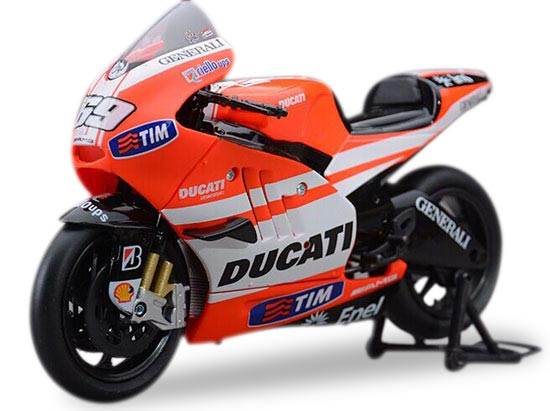 1:12 Orange NO.69 NewRay Diecast Ducati Desmosedici GP11