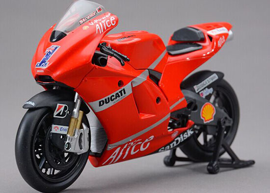 1:12 Red NO.1 NewRay Diecast Ducati Desmosedici GP08 Model