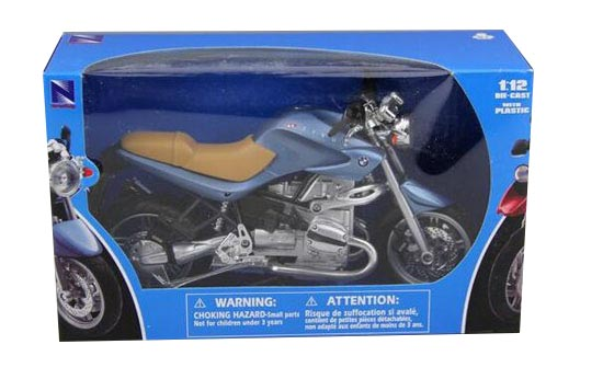1:12 Scale Blue NewRay Diecast BMW 1150R Model