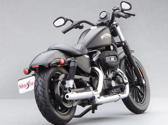 Black 1:12 Scale cast MaiSto Harley Davidson IRON 883 Model ...