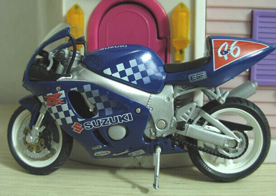 Blue 1:18 Scale SOLIDO NO.46 Diecast Suzuki Model