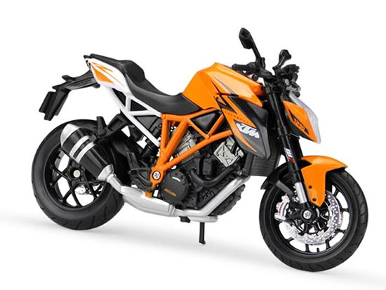 1:12 Orange Maisto Diecast KTM 1290 Super Duke R Model